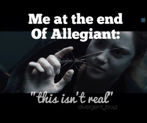 feels, divergent, and allegiant image