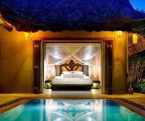 pool, luxury, and bedroom image