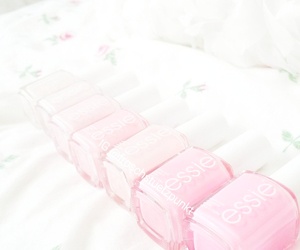 pink, essie, and cute image