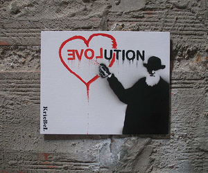 evolution and love image