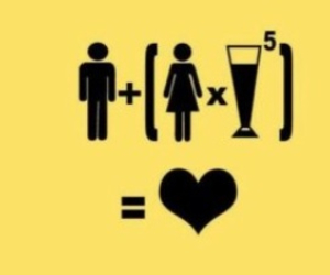 love, boy, and alcohol image