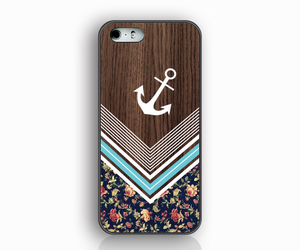 anchor, flowers, and case image