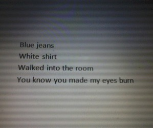 lana del rey, blue jeans, and quotes image