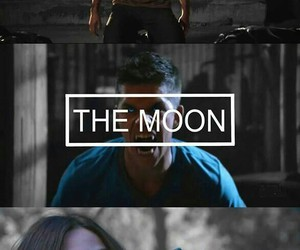 teen wolf, The Moon, and the sun image