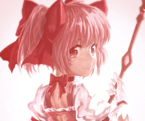 anime, illustration, and pink image