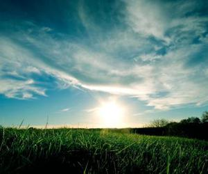 nature, sky, and sun image