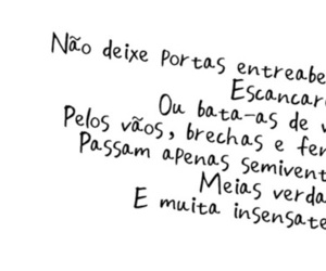 quote, texto, and palavras image