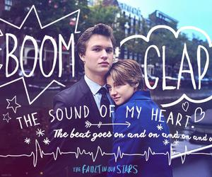 tfios, the fault in our stars, and boom clap image