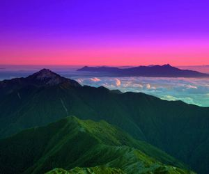 japan, yamanashi, and landscape image