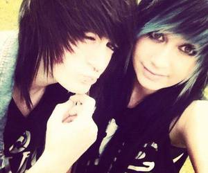 <3, emo, and so cute image