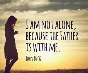 god and not alone image