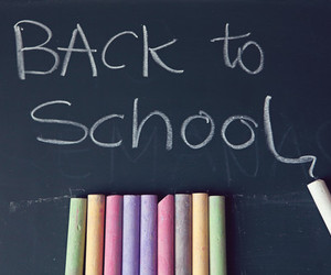 school, back to school, and study image