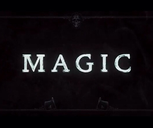 magic, black, and coldplay image