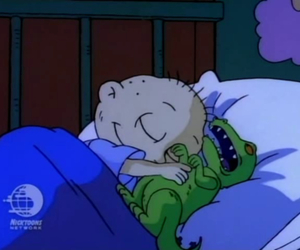 rugrats, tommy, and reptar image