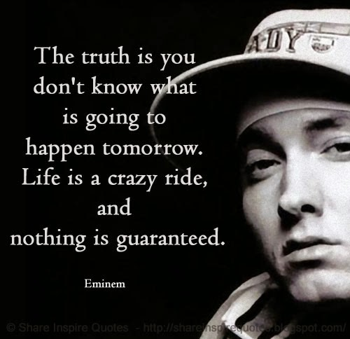 Inspirational Eminem Quotes About Love And Life - lifecoolquotes