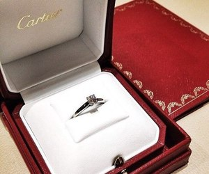 cartier, details, and ring image