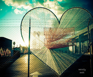 heart, art, and photography image