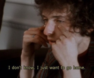 bob dylan, quote, and home image