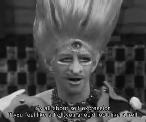 party monster, quote, and self expression image