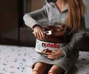 barbie, nutella, and real image