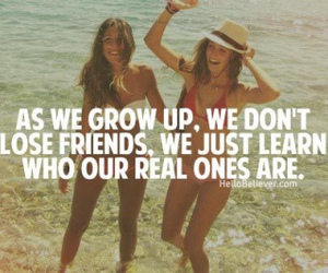 friends, quote, and true image