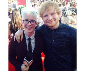 ed sheeran and tyler oakley image