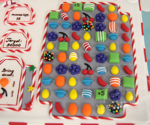 candy crush and cake image