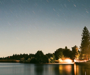 astronomy, film, and long exposure image