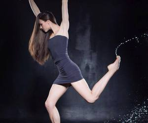 modern dance, photography, and water image