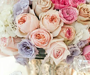 bridal, flowers, and decor image