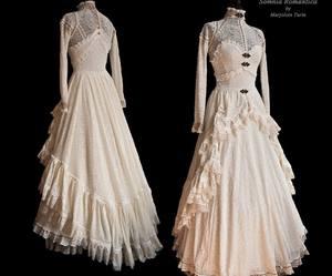 antique, dress, and vintage image