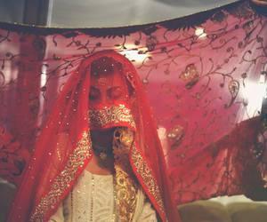 wedding, bride, and pakistani image