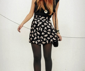 fashion, outfit, and red hair image