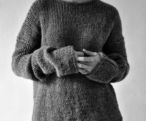 fluffy, jumper, and warm image