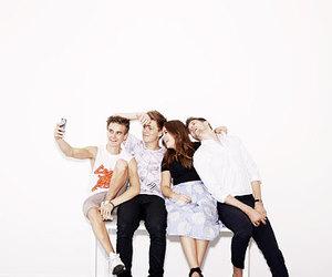 youtubers, joe sugg, and caspar lee image