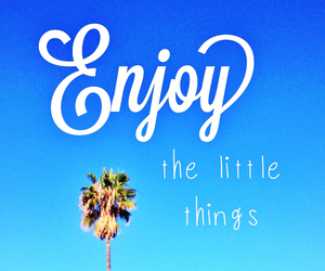 enjoy, life, and blue image
