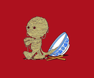 delicious, mummy, and noodle image