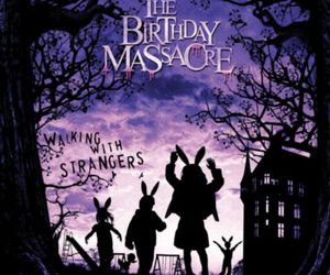 the birthday massacre, album, and walking with strangers image