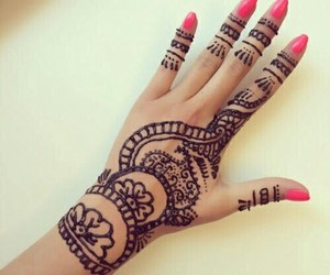 henna, tattoo, and art image