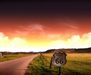 route 66, road, and 66 image