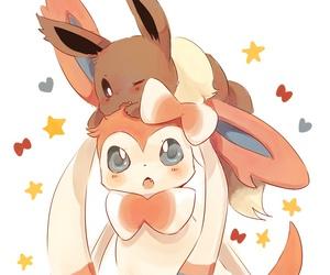 art, eevee, and pokemon image