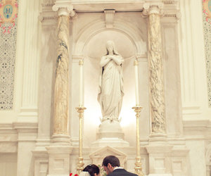 altar, couple, and together image