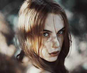 girl, beauty, and portrait image