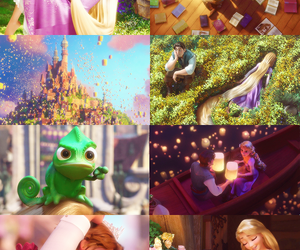 blonde, cartoon, and tangled image