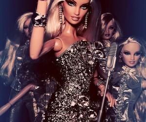 doll, dress, and fashion image