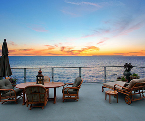 luxury, house, and ocean image
