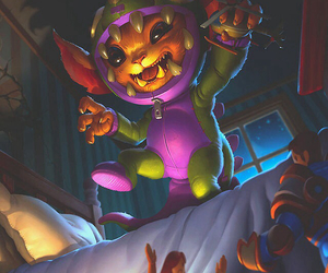 champion, gnar, and league of legends image