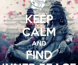 Buddha, inner peace, and hippie image