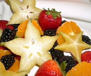 beautiful, star, and fruit image