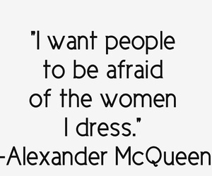 quote, Alexander McQueen, and fashion image